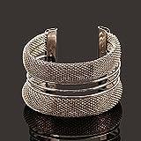New Fashion Womens Vintage Gold Silver Bangle Punk Cuff Bracelet Jewelry#by pimchanok shop (Styles#14)