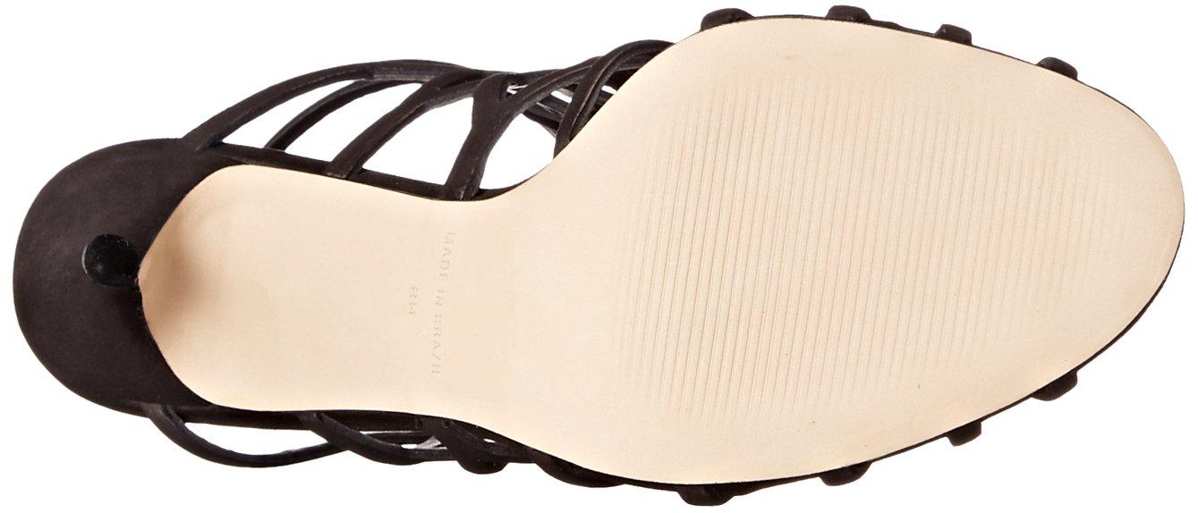 Steve Madden Women's Slithur Dress Sandal, Black Nubuck, 7.5 M US by Steve Madden (Image #3)