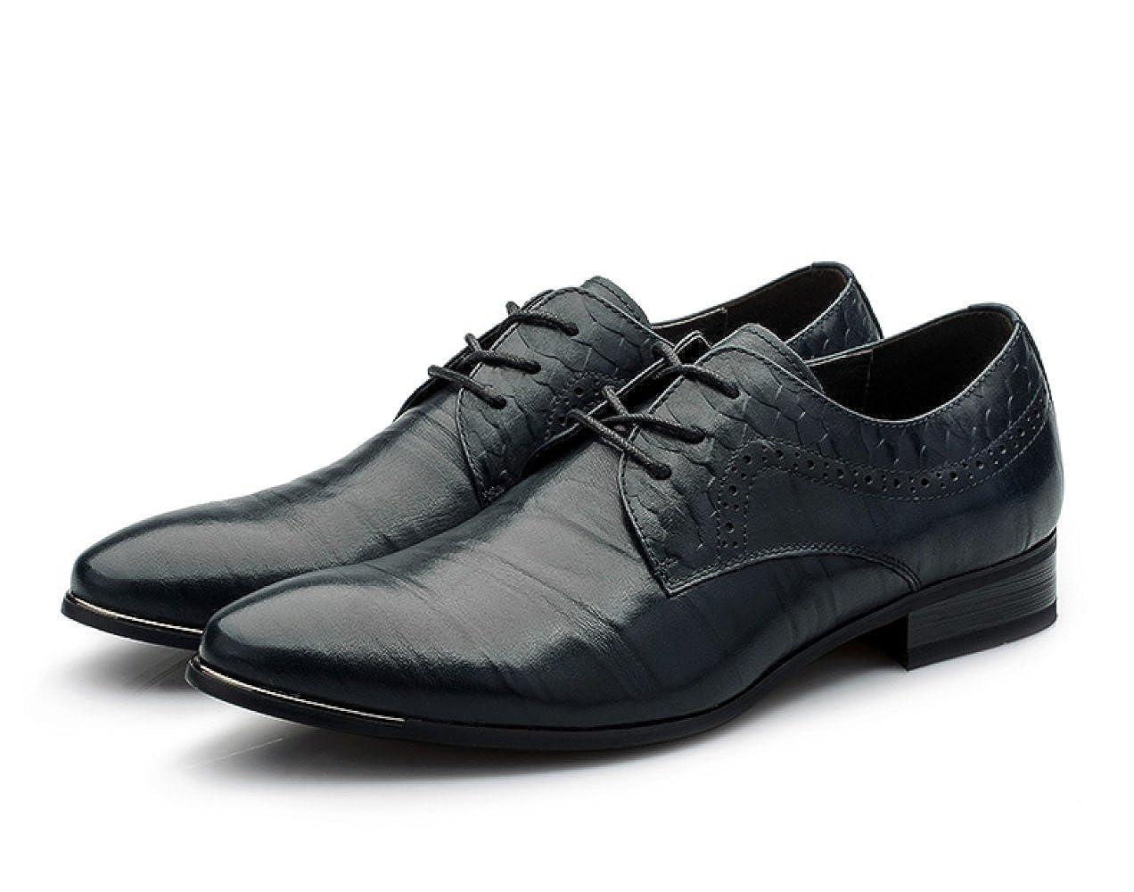 GTYMFH Schnürschuhe England Business Schuhe Herrenschuhe Atmungsaktiv Leder Schuhe