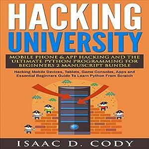 Hacking University Audiobook