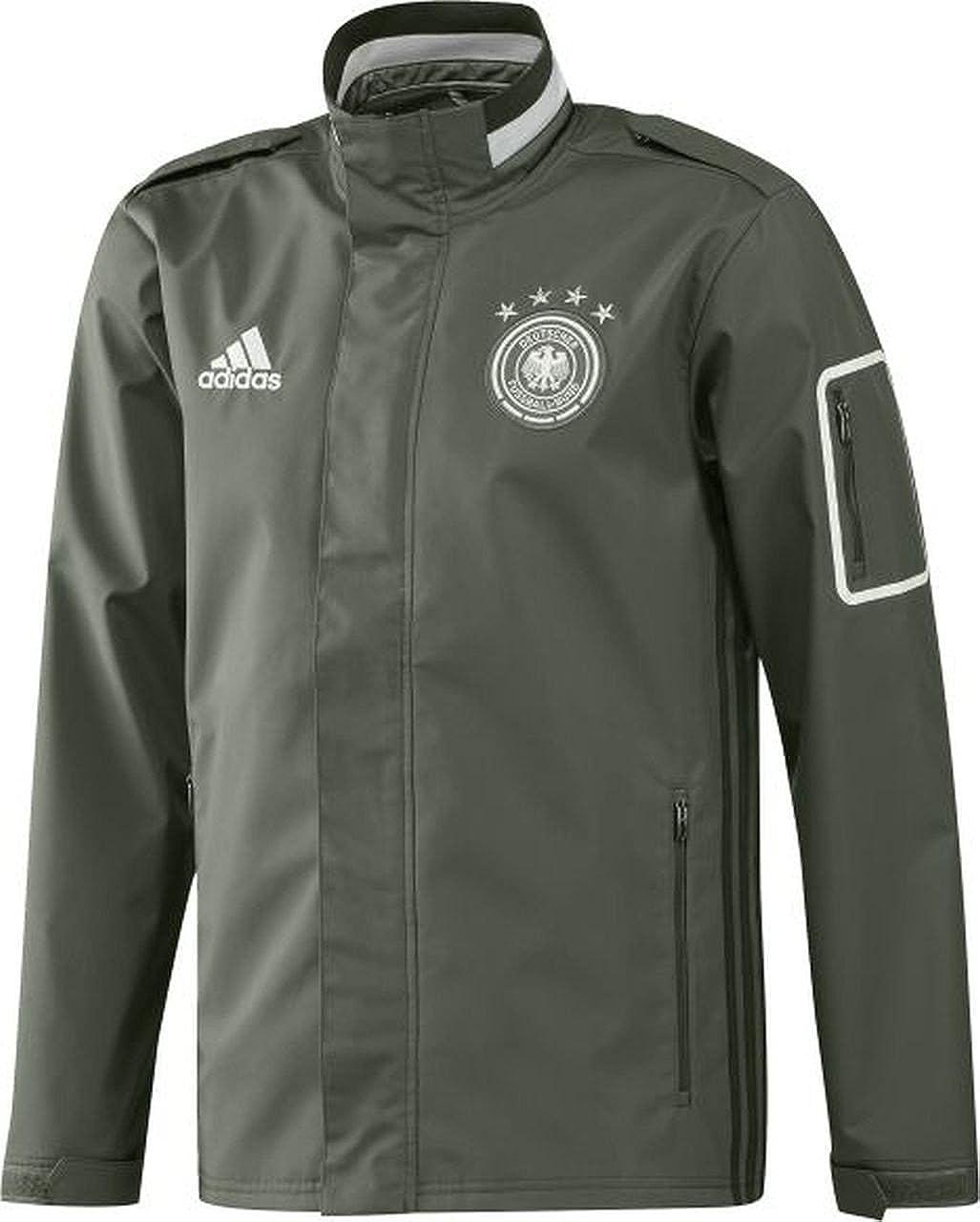 adidas Herren DFB Travel Die funktionelle Reisejacke der deutschen Nationalmannschaft.