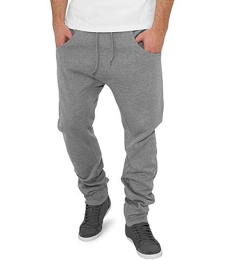 45163f62155 CinC - Jogging Homme Fashion Jogging CC 527 Gris Clair - Gris  Amazon.fr   Vêtements et accessoires