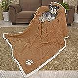 """PAWZ Road 63"""" Super Large Pet Blanket 158 CM For Big Large Dog Fat Big Cat"""