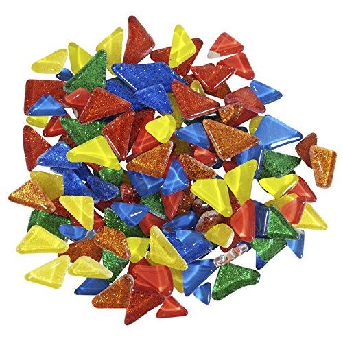- Diamond Tech Cobblestones Mosaic Tiles, Brights Mix, Assorted Colors, 3 Pounds