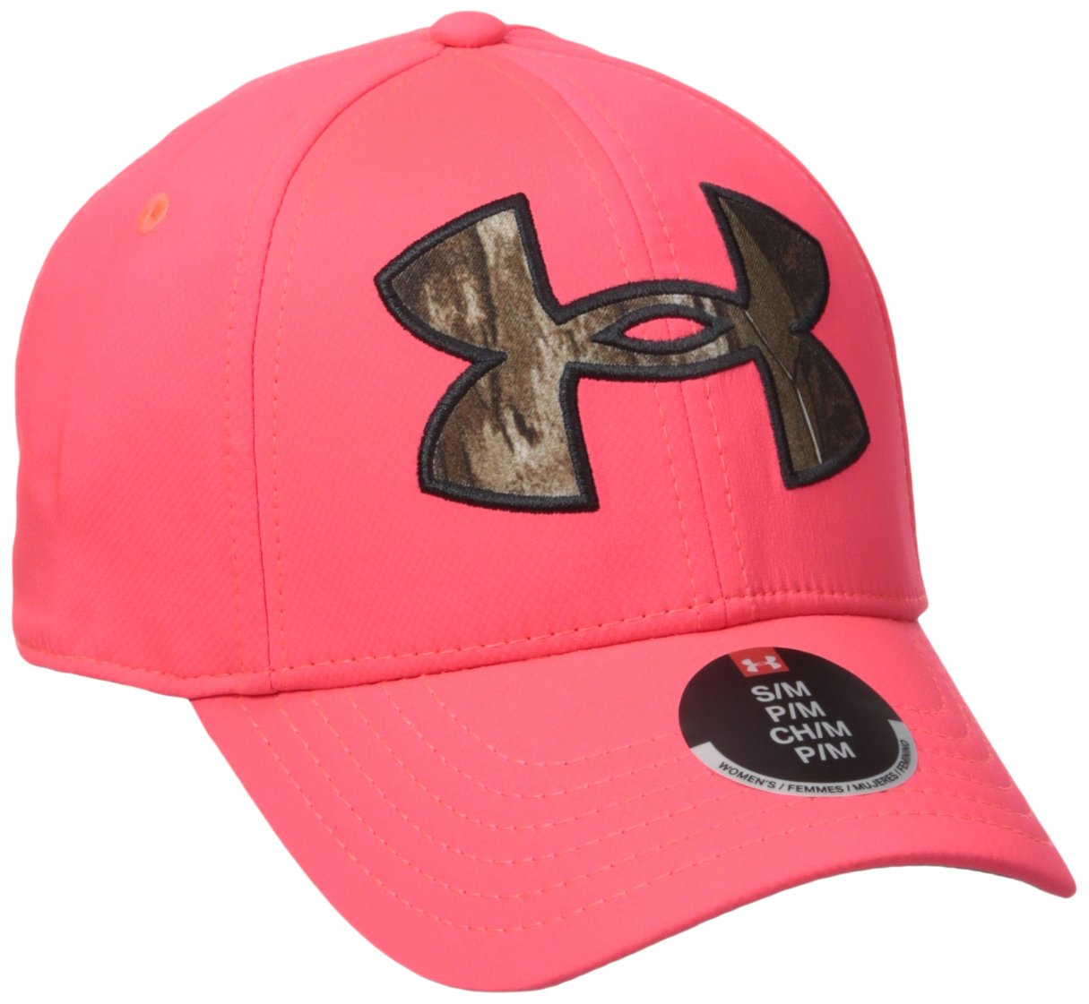 size 40 ebd2a dff4f Galleon - Under Armour Women s Caliber 2.0 Cap, Pink Chroma Realtree  Ap-Xtra, Small Medium