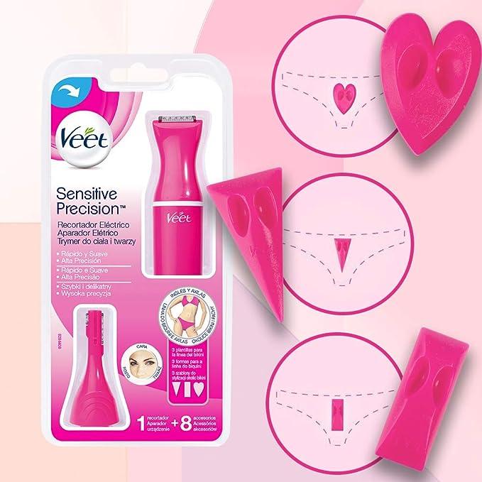 Veet Sensitive Precision - Recortador Eléctrico Depilación Mujer ...