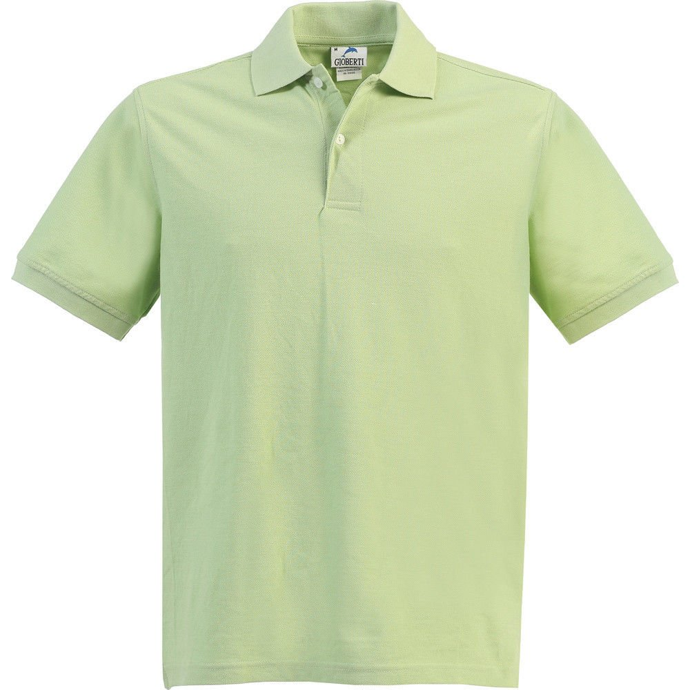 B-One Little Kids Unisex Paradise Green Short Sleeve School Uniform Polo Shirt 6
