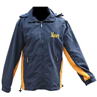Mitchell Proffitt Men&39s US Navy Windbreaker Jacket at Amazon Men&39s