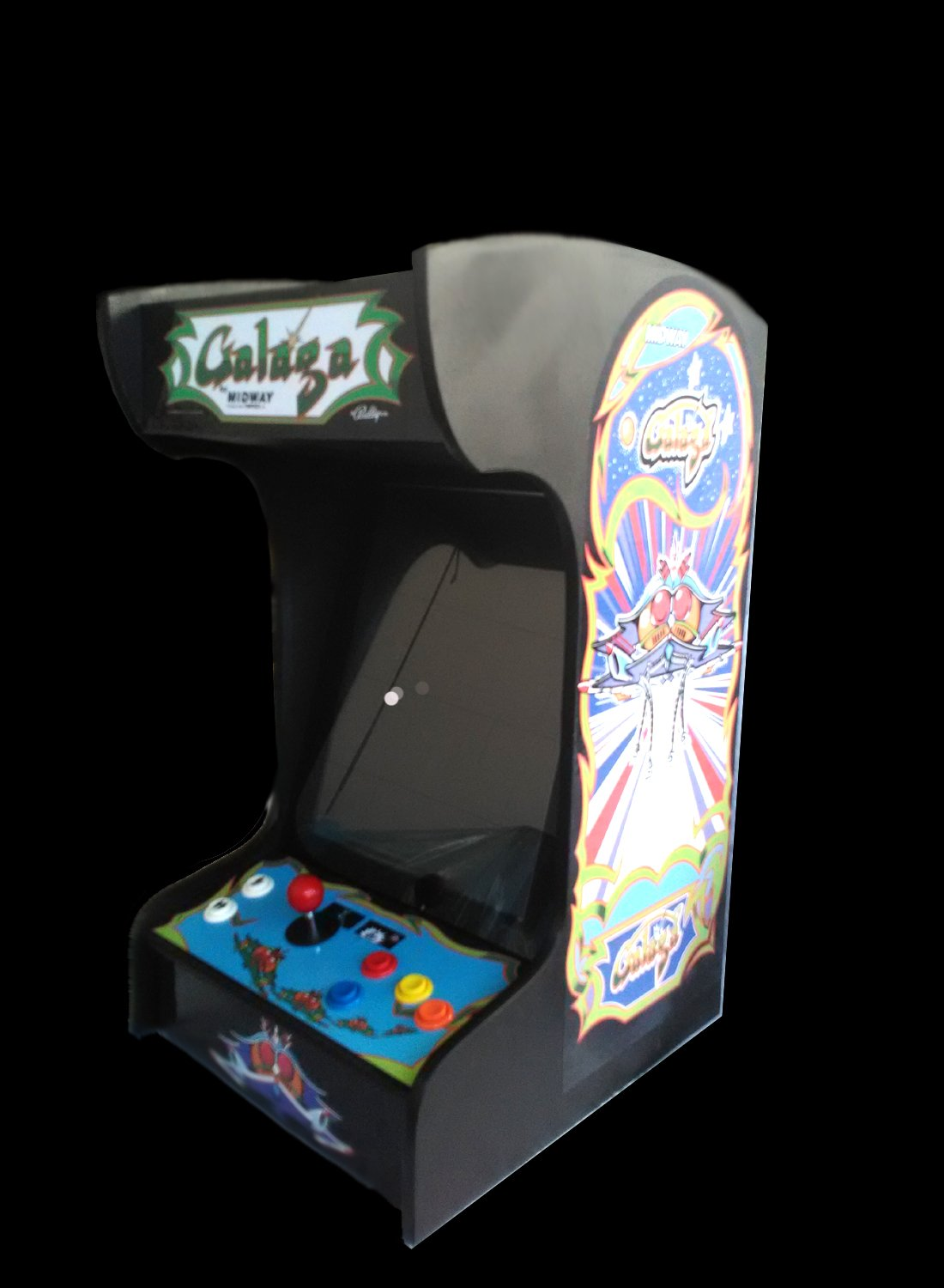 Retro Arcade Machine with 412 Games -Tabletop/Bartop - All The Classics -  Perfect for Man Caves, Bars and Game Rooms! (Black)