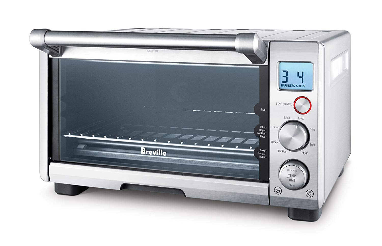 Breville the Compact Smart Oven 1800W Convection Toaster Oven - BOV650XL