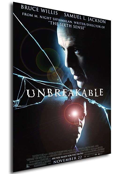 Instabuy Poster Cartel de pelicula - Unbreakable (Cartel ...