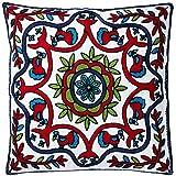 Capa de Almofada Francesa Toulouse JolitexVermelho
