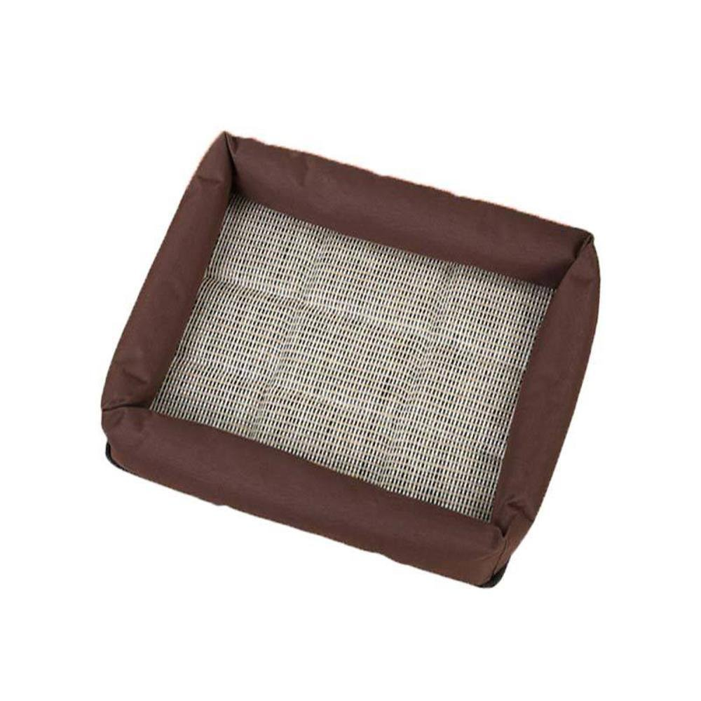 A M A M Aoligei Printing Pet Nest Cushion Cushion Four Piece Comfort Big Small Dog Perfect for Sunbathing mat, Nap&Sleeping Bed