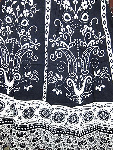 Indian Wrap Skirt Printed Cotton Gypsy Sarong Wrap Around Long Wraparound Skirts
