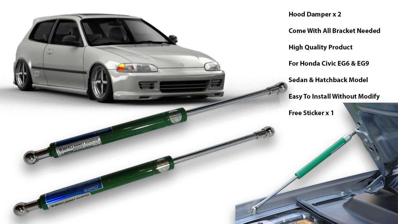 Honda Civic Ej Eg6 Eg9 Sr3 Sr4 92 95 Front Hood Bonnet 1992 Sedan Absorber Lift Gas Strut Shock Kits Damper Automotive