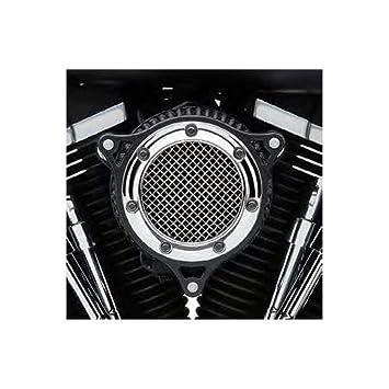 Cobra Rpt - de entrada de aire cromado anillo w/marco negro 606010205 CB: Amazon.es: Coche y moto
