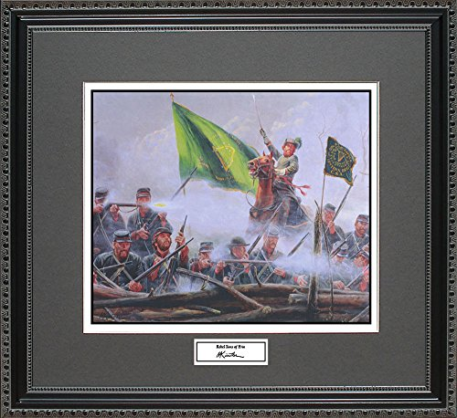 Mort Kunstler REBEL SONS OF ERIN Framed Wall Art Civil War Print, (Rebels Art Glass)