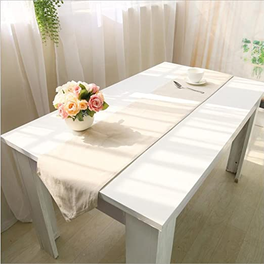 Camino de mesa de algodón para manualidades, color marfil de yute ...