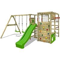 FATMOOSE Parque infantil de madera ActionArena Air XXL