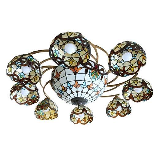 Araña LED Lámpara de techo para sala de estar, dormitorio y ...