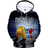 PANOZON Men's Among Us 3D Printed Hoodie Funny Sweatshirt Casual Streetwear Long Sleeve Pullover