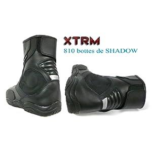 moto bottes courtes XTRM 810 SHADOW hommes et femmes en tournée chaussures courtes urbaines (EU 40 (UK 6))