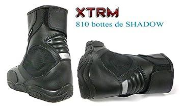 b73c945040df55 Moto Bottes Courtes XTRM 810 Shadow Hommes et Femmes en tournée Chaussures  Courtes urbaines (EU