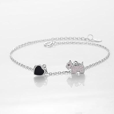 Amazon Com 2018 New Bracelet S925 Sterling Silver Dongdaemun Cute