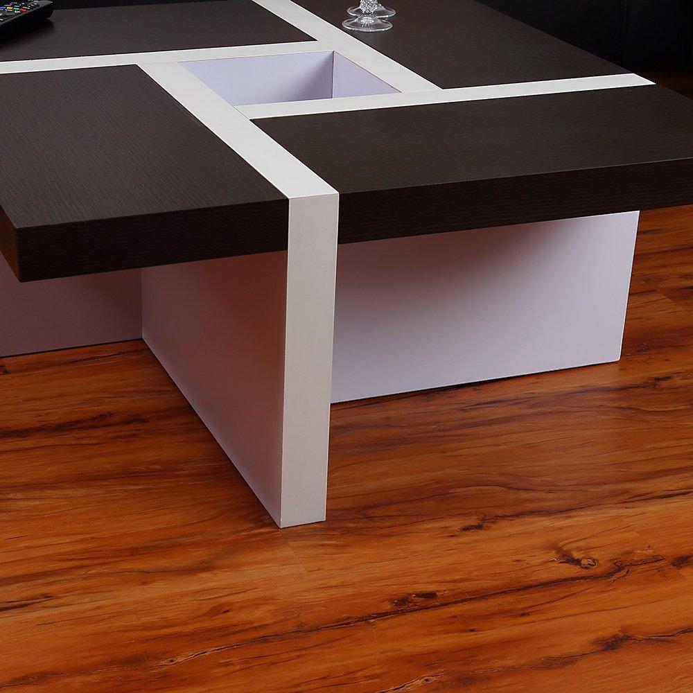Couchtisch Beistelltisch Wohnzimmertisch Tisch Glastisch Weiss Braun Schwarz Amazonde Kche Haushalt