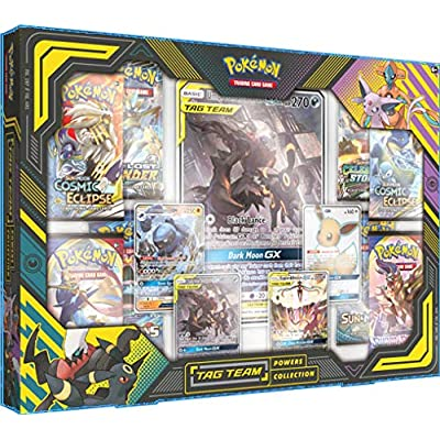 Pokemon TCG: TAG Team Powers Collection Featuring Umbreon & Darkrai-GX: Toys & Games