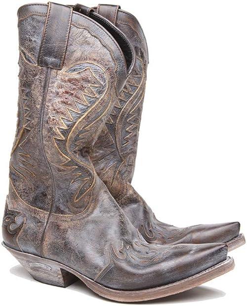 Sendra Boots Cowboy Boots 2535 Raven