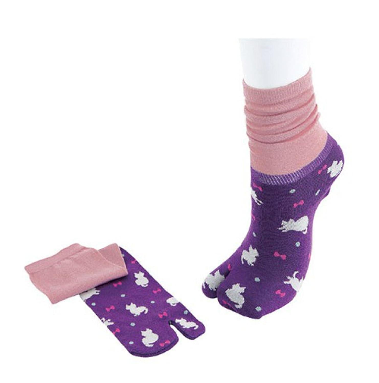 Japanese Tabi Socks Neko