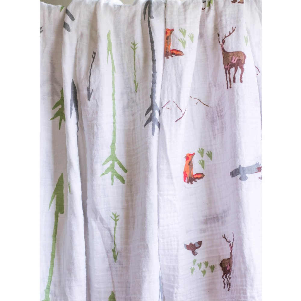 Muslin Baby Swaddle Blanket Set: Large Cotton Gender Neutral Swaddling Blankets