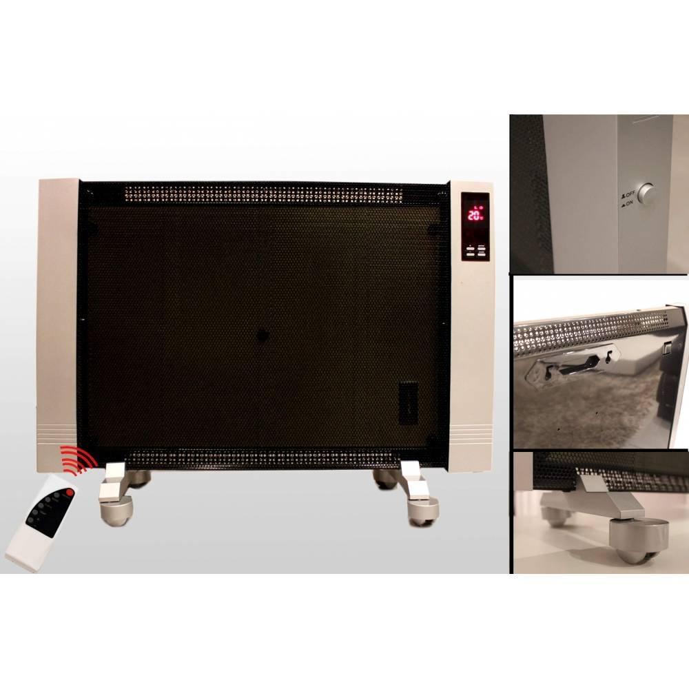 Sunwave - Radiadores eléctricos 2 unidades, móviles y fijos, 1000 W: Amazon.es: Electrónica