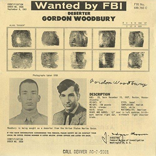 Wanted Notice - Gordon Woodbury/U.S. Marine Corps Deserter - FBI - - Us Woodbury