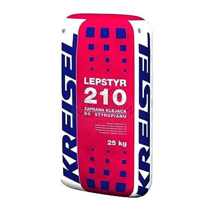 Adhesivo para poliestireno expandido espuma de aislamiento Kreisel 25 kg