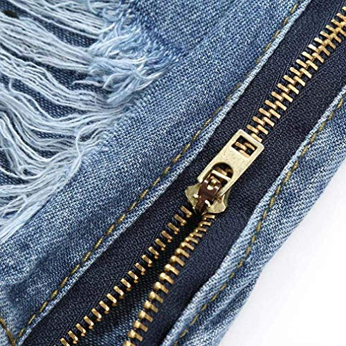 Giovane Schen's Denim Moda Da E Solid Pants Elastico Traspirante Uomo Leisure Slim Handsome Ulich Color Blau Jeans Glich Pantaloni Soft Nn np0fqFpTwv