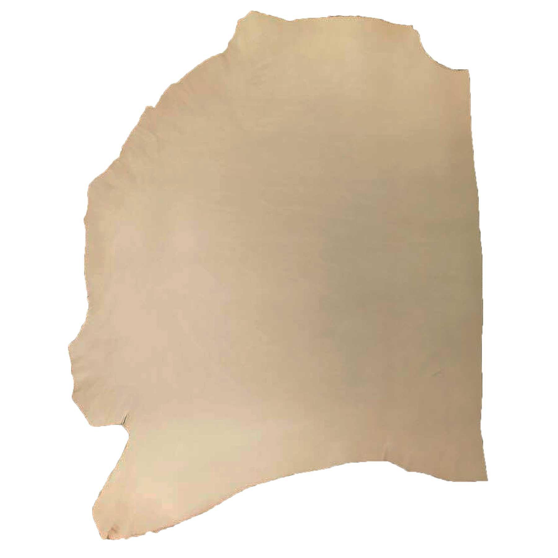 Genuine Vegetable Tan Cowhide Shoulder Natural 7-8oz Average 7-8 sqft Tooling Leather
