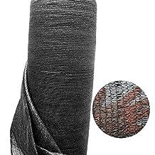 40% Black 13' x 6.5' Sunblock Shade Cloth Sun Mesh Shade Net UV Resistant Fabric Netting¡