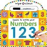 Wipe Clean: Numbers (Wipe Clean Learning Books)