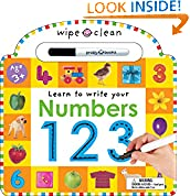 #8: Wipe Clean: Numbers (Wipe Clean Learning Books)