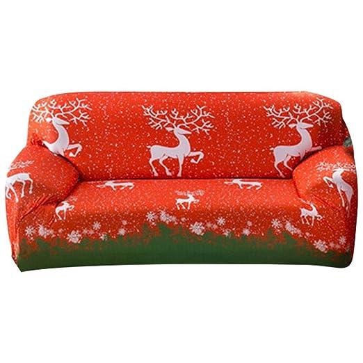 AIHOME Funda de sofá Navidad Stretch sofá cojín vollab ...
