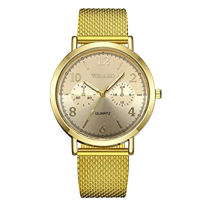 Reloj de Hombre Longra Business, Cuarzo analógico Delgado Negro Fecha de Moda