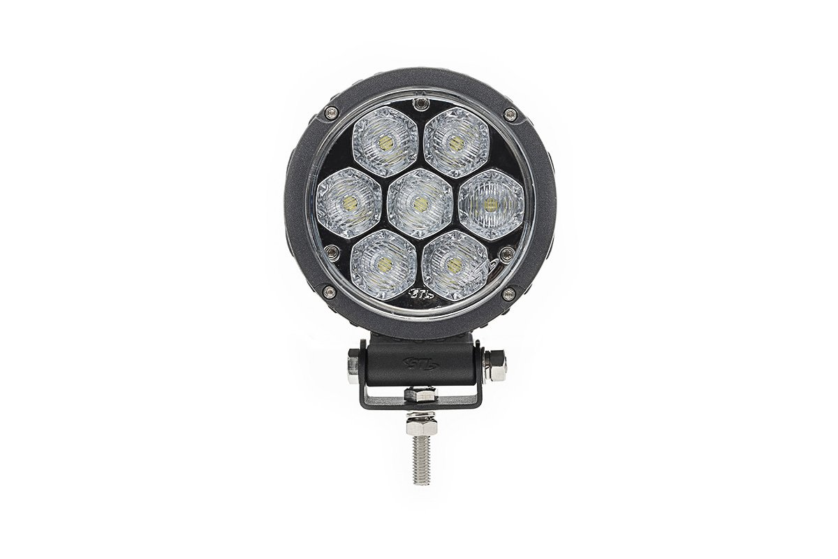 Circle Carbine Floodlight Round 4 Off Road LED Work Light SpeedTech Lights
