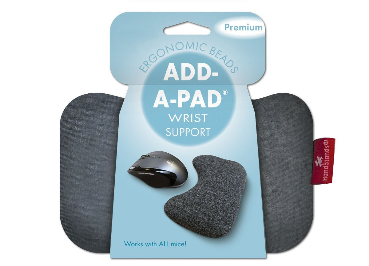 Beaded Add-A-Pad Computer Mouse Wrist Cushion by HandStands
