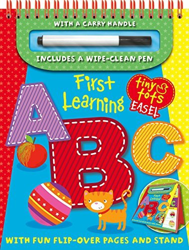 Tiny Tots First Learning ABC - Explorers (Tiny Tots Easels) by Igloo Books Ltd (2014-11-01)