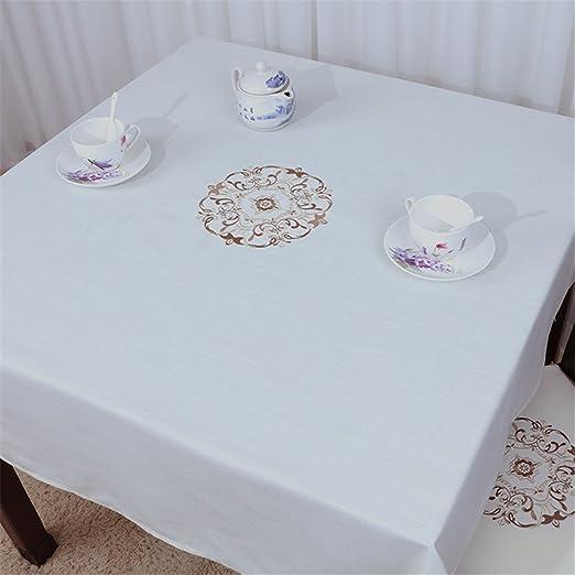 HJHET Lujoso y elegante jardín minimalista mesa de café ...