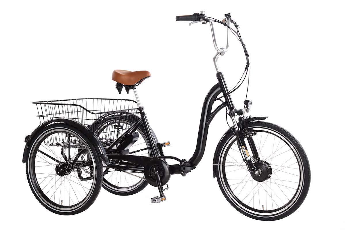 Triciclo Eléctrico Ebici Tryme2 24x3 Motor 250W36V11AH 7V