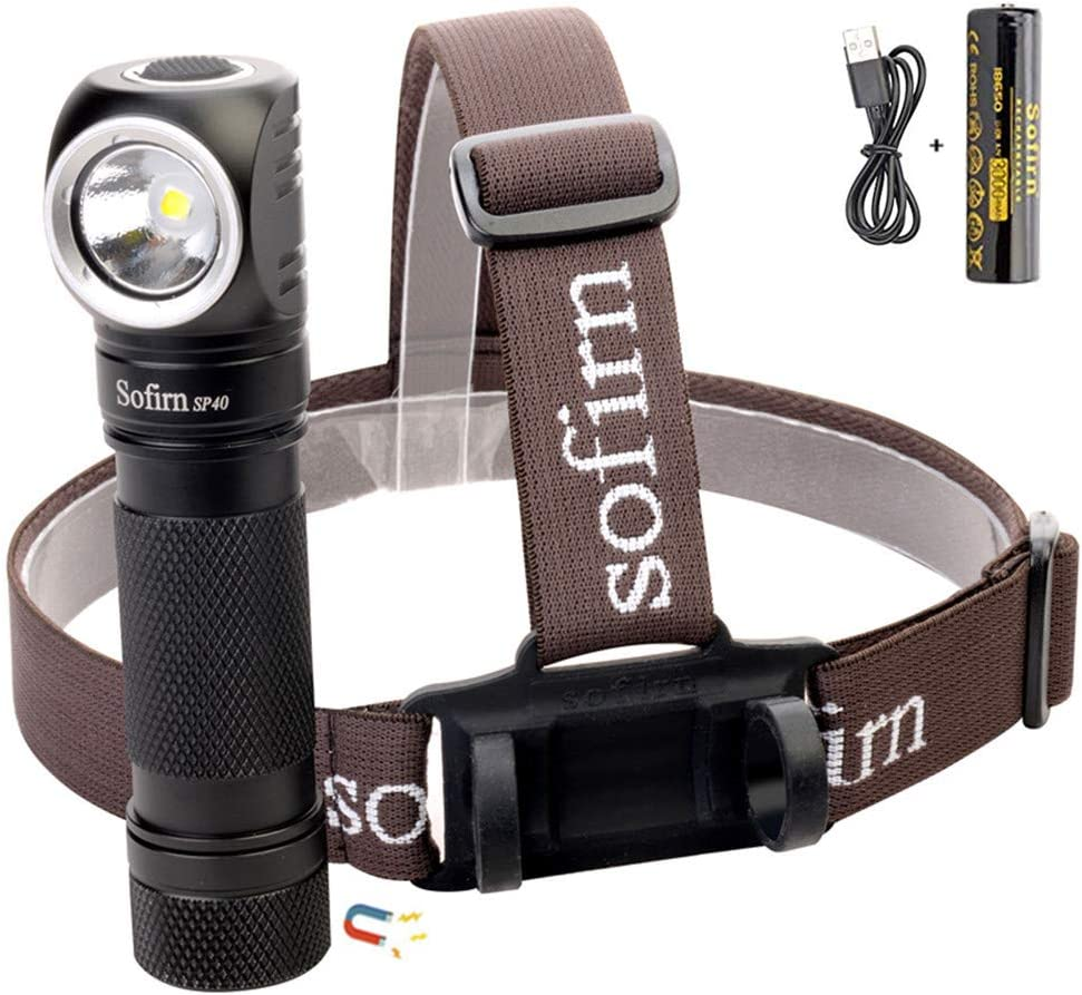 Amazon coupon code for Led Headlamp Rechargeable 1200 Lumen