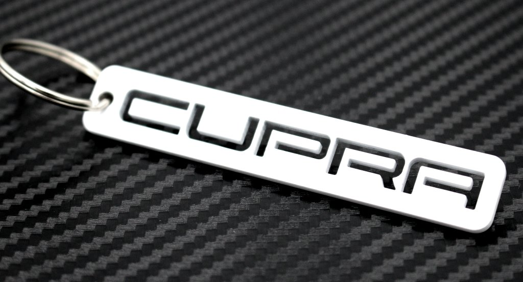 VmG-Store Cupra Porte-cl/é en acier inoxydable